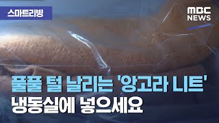 [스마트 리빙] 풀풀 털 날리는 '앙고라 니트&…