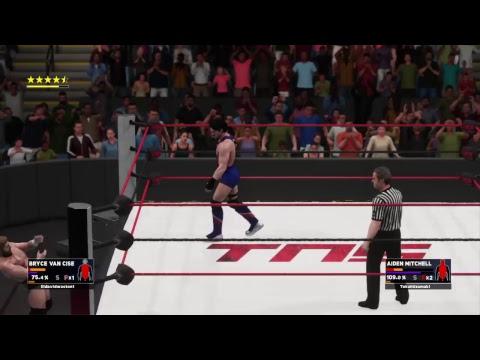 XWC TNS: Bryan Van Cise vs Aiden Mitchell