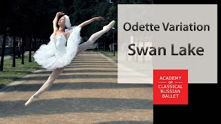 P.Tchajkovsky, The Swan Lake variation (14 age ballerine). Teachers-T.Petrova, V.Kuramshin