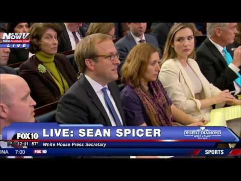Thumbnail: FNN- SEAN SPICER Corrects White House Reporter Over President Trump Inauguration Attendance