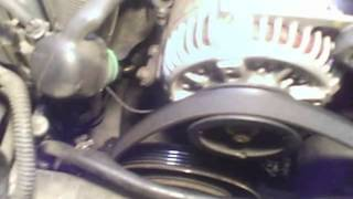 Alternator replacement 1990 - 1993 Honda Accord 2.2L SOHC Prelude Install Remove Replace