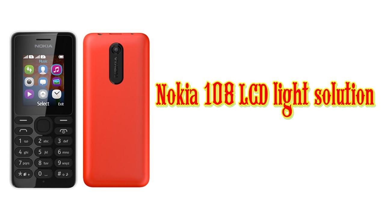 Nokia 108 Lcd Light Solution White Display Circuit Diagram C1 01 Black