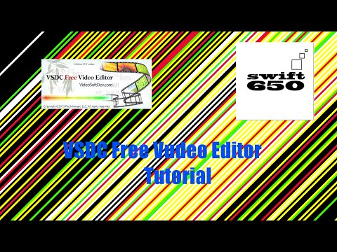 VSDC Free Video Editor - TUTORIAL - Deutsch / german  - CUT / EFFECTS / AUDIO