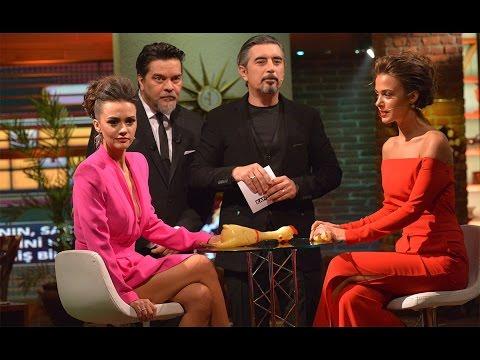 Beyaz Show- Hande Soral Ve Bensu Soral, Ali İhsan Varol Eşliğinde Yarıştılar!