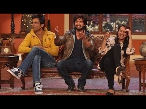 Shahid Kapoor Sonakshi Sinha on Comedy Nights With Kapil 8th December 2013 Full Episode Travel Video