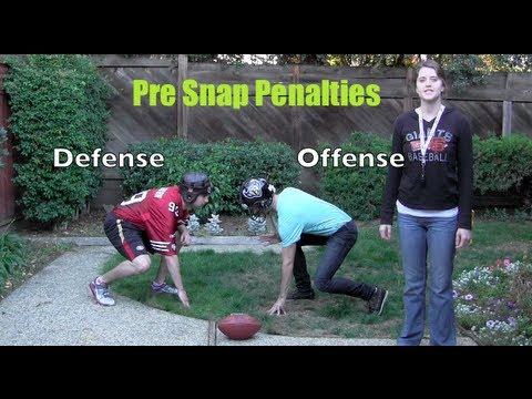 Football Pre-Snap Penalties Explained - Football Basics - Football Wife