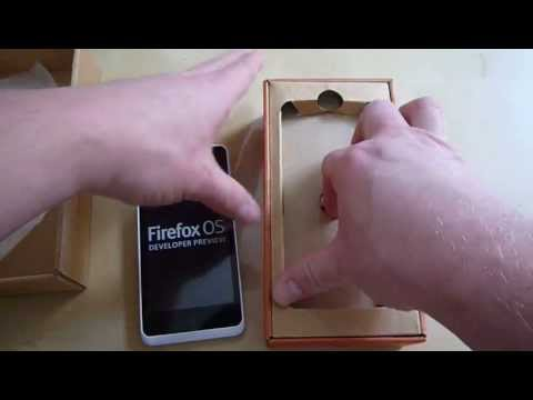 Unboxing of Geeksphone