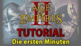 Age of Empires II HD - Pro Tipps für die ersten Minuten [Tutorial][German]