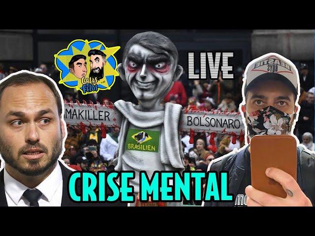 A quarentena está te matando? (Live com Membros do canal) | Galãs FEios