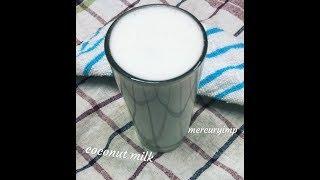 Instant Coconut Milk Recipe: Dairy-Free Vegan Milk Recipe