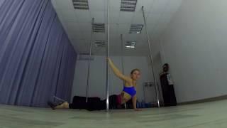 Танец на пилоне. Exotic pole. Обучение в Самаре.