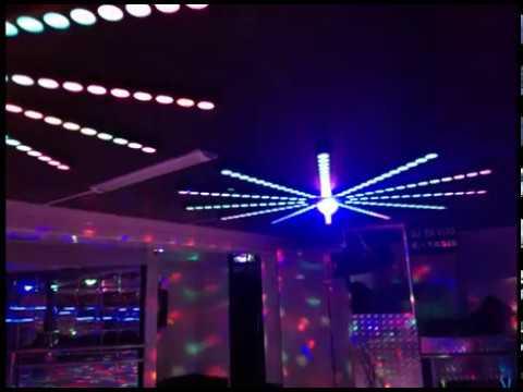 Decoraci n de discoteca con luces de neon y led youtube - Luces de neon ...