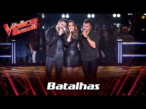 D'Lucca & Gabriel e Lais Yasmin cantam 'You're Still The One' nas Batalhas - The Voice Brasil   7ª T
