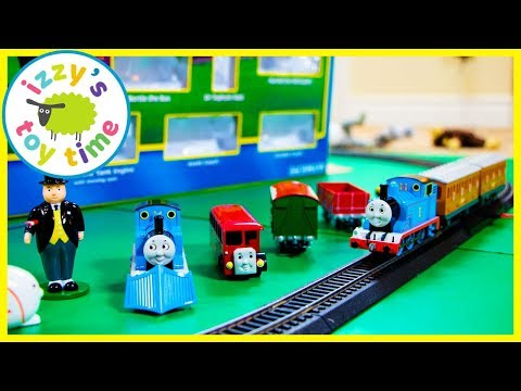 Thomas and Friends BACHMANN DELUXE TRAIN SET! Fun Toy Trains for Kids