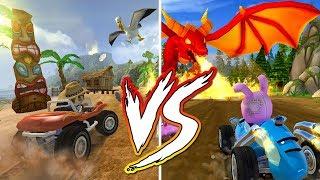 Beach Buggy Racing VS Beach Buggy Racing 2 Comparison | Android - iOS