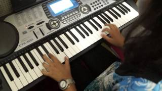 "Saumya Joshi- ""Popcorn"" on the Keyboard"