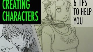 Creating Characters: 6 Tips to Help You