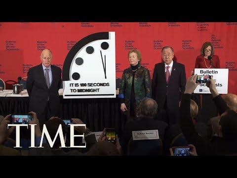 The End Is Nigh: Doomsday Clock Reaches 100 Seconds To Midnight | TIME