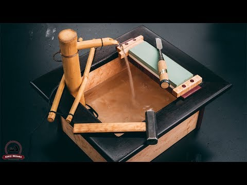 Building a Japanese Sharpening Station Water Fountain