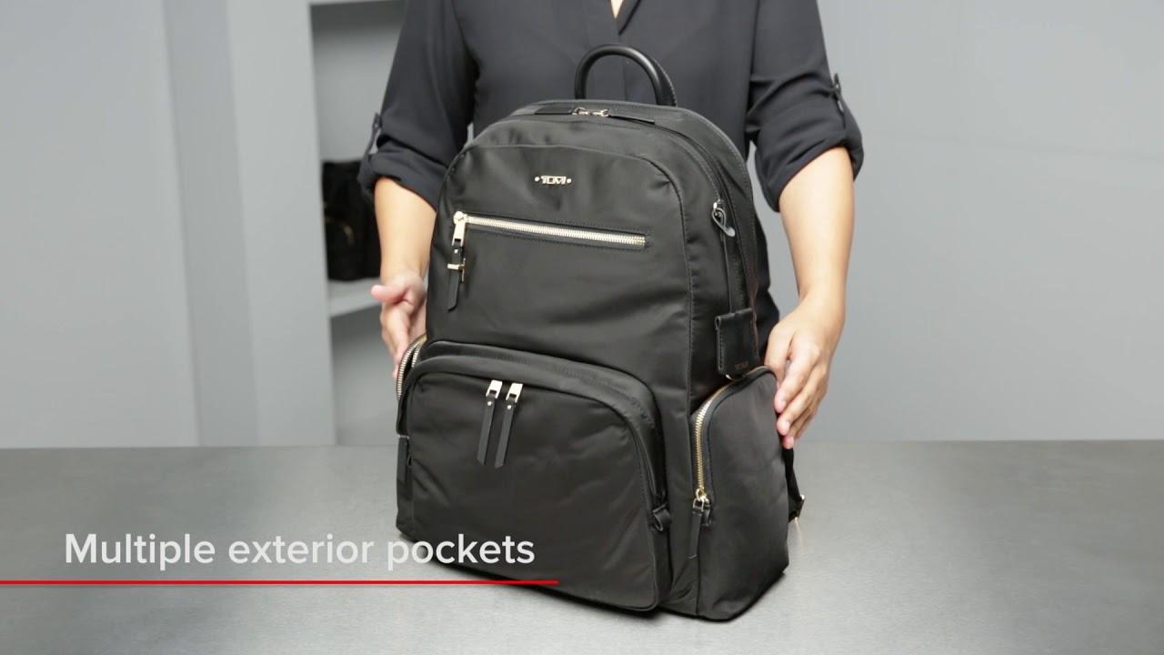 6b5a88e3b96 Tumi Voyageur Carson Leather Backpack
