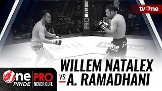 [HD] Willem Natalex Munster vs Africo Ramadhani || One Pride Pro Never Quit #19