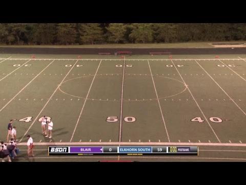 BSDN Live - Blair @ Elkhorn South - Football - 2017