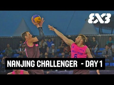 LIVE 🔴 - FIBA 3x3 Nanjing Challenger - Day 1 - Nanjing, China
