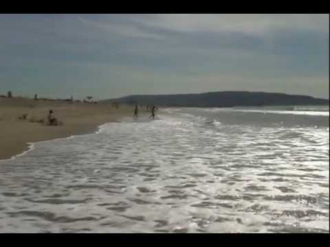 Hermosa Beach California (Long Walk Along The Pacific Ocean)