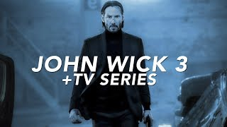 New Details on JOHN WICK CHAPTER 3 + Spinoff TV Series!