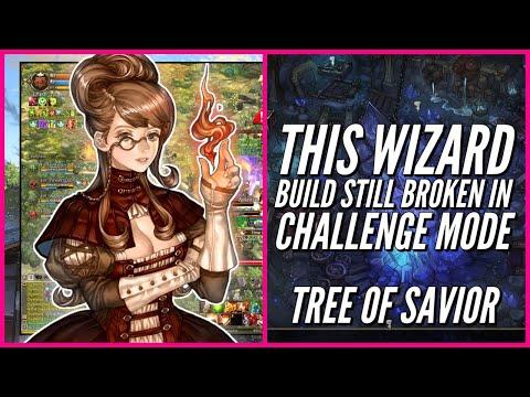 Tree of Savior: This WIZARD BUILD STILL BROKEN in Challenge mode!