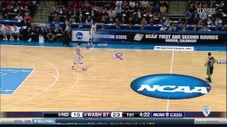 2008 NCAA Tournament: (5) Notre Dame vs. (4) Washington State