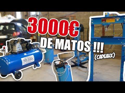 J'AI REÇU 3000€ DE MATOS POUR LA MÉCANIQUE !!!
