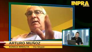 Webcast: Entrevista con Arturo Muñoz - Konica Minolta