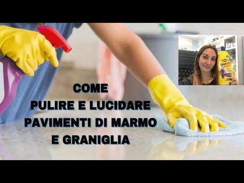 Come pulire i pavimenti di marmo - Soluzioni di Casa