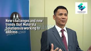 Country President, Mohd Rauf Nasir shares his insights on Motorola Solutions