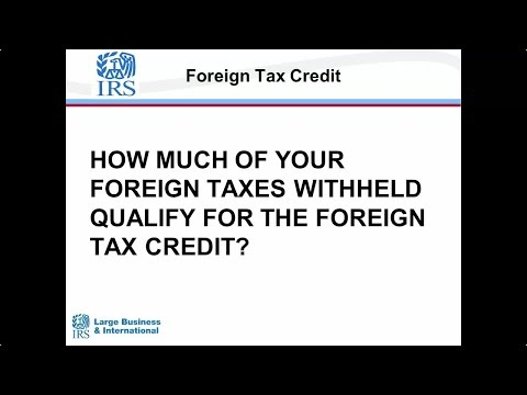 Foreign Tax Credit-Statutory Withholding Rate vs. Treaty Rate