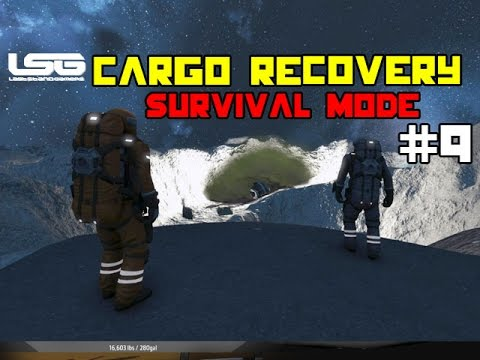 Space Engineers - Cargo Recovery Mission !!! SE7-9