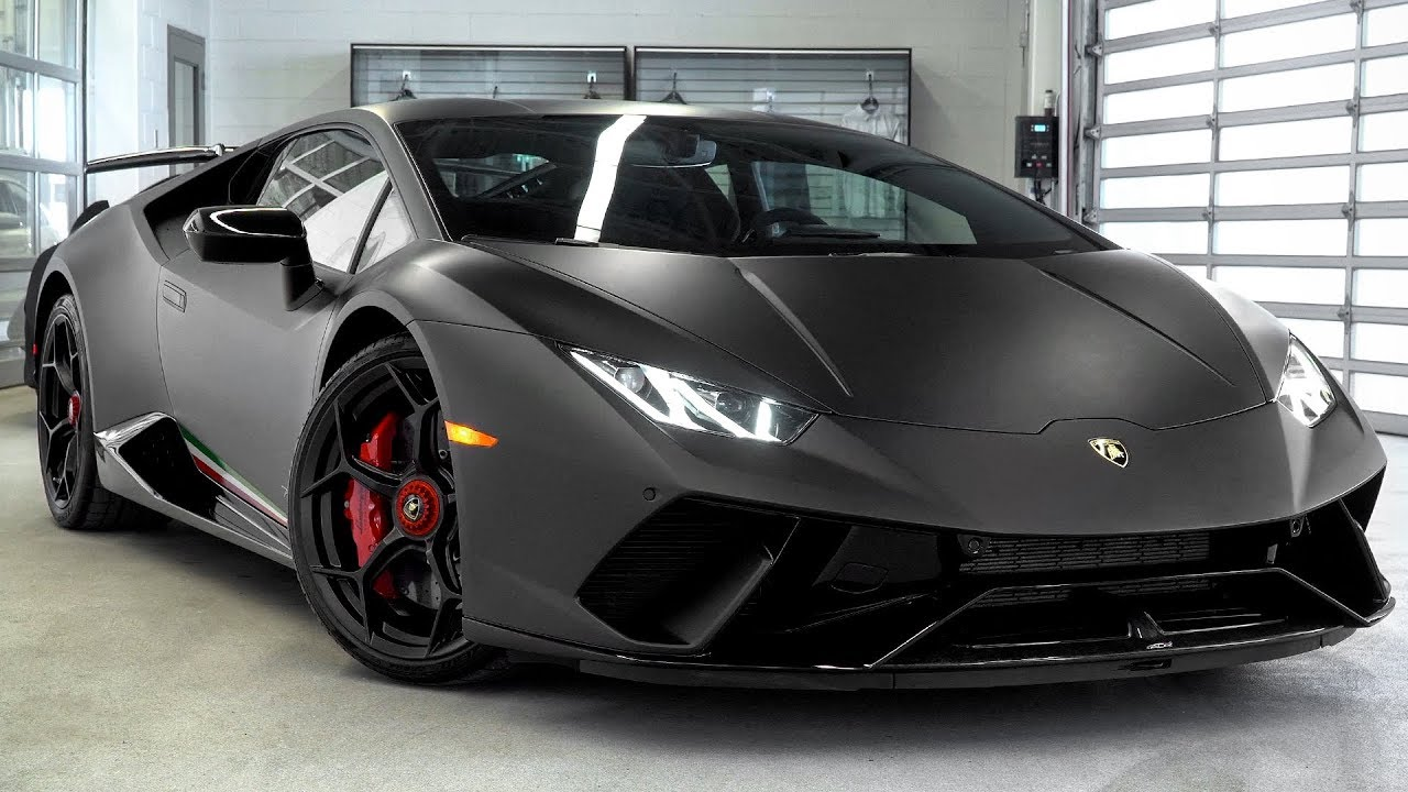Delivery Of A 2018 Lamborghini Huracán LP640-4 Performante