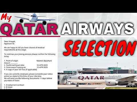 My Qatar Airways Selection Process // How I got Selected