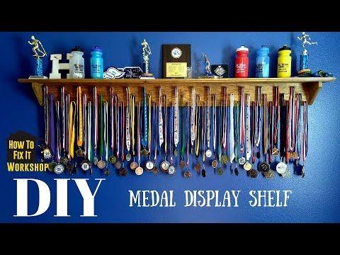 Simple Diy Medal Sport Display Shelf