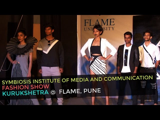 Symbiosis Institute Of Media And Communication Fashion Show At Flame Pune Youtube