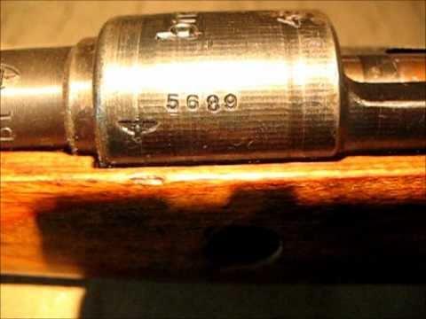 Mauser 1943 BNZ SS Contract K98