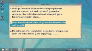 Virtua Tennis 4 Problema Fatal Error From Youtube - The