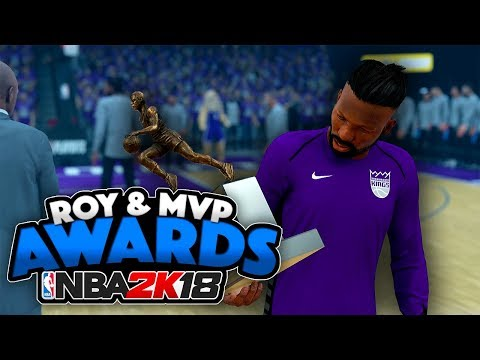 NBA 2K18 My Career | MVP Award Speech | Western Conference Finals Game 1