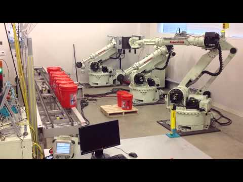 Mechatronic Engineering Senior Capstone Project - Kawasaki Robot Palletizing