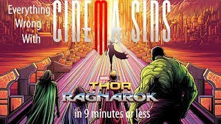 Everything Wrong With CinemaSins: Thor Ragnarok in 9 Minutes or Less