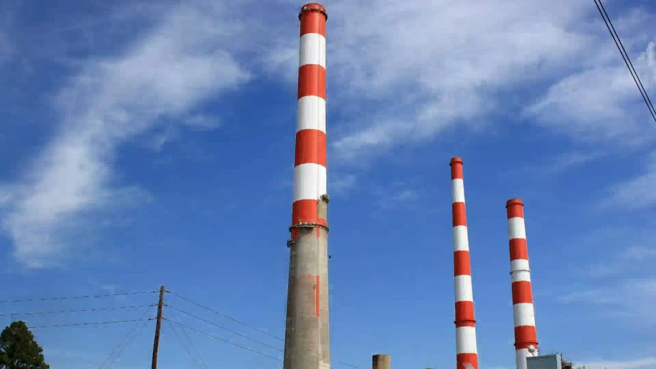 Industrial Chimney Smoke Stack Painting