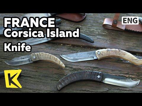 【K】France Travel-Corsica Island[프랑스 여행-코르시카]고철로 만드는 전통 칼/Knife/Mountain/Craftman