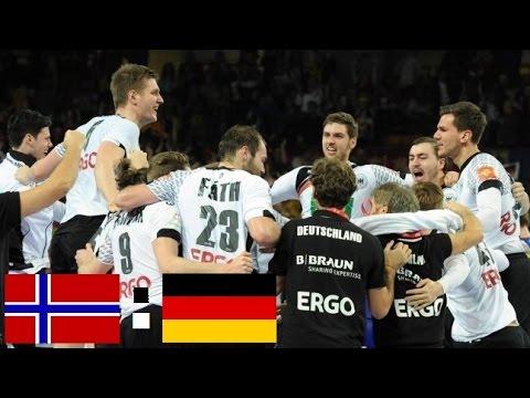 handball em deutschland norwegen video