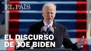 Biden asumió y dio un discurso  de unidad y reconciliación